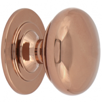 Rose Gold Round Knob available in 32mm and 38mm