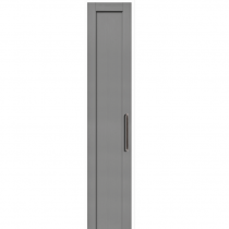 Dust Grey - Beaded Shaker - 22mm thick, with 84mm rails