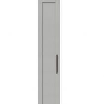 Light Grey - Beaded Shaker - 22mm thick, with 84mm rails