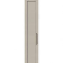 Taupe - Beaded Shaker - 22mm thick, with 84mm rails