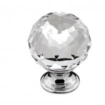 Handle Clear Crystal Knob