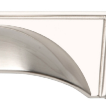 Windsor Brushed Nickel Cup Handles & Knob Collection