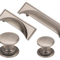 Windsor Pewter Cup Handle & Knob Collection available in a selection of sizes