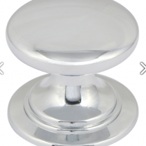 Windsor Polished Chrome Knob available in 32mm & 38mm