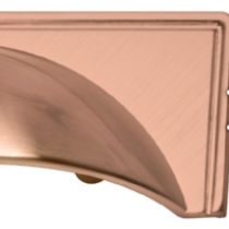 Windsor Rose Gold Cup Handle available in 38mm