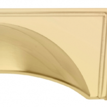 Windor Satin Brass Cup available in 96mm