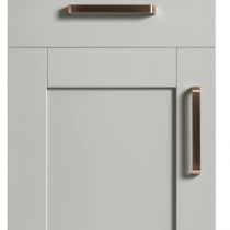 Serica 5 piece Vinyl Door - Light Grey