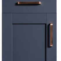 Serica 5 piece Vinyl Door - Marine Blue
