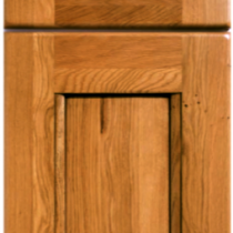 Oak door and drawer front.