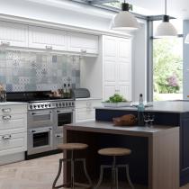 Panel door kitchen design