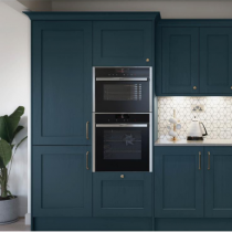 Shaker style kitchen, oven bank, Feature extractor.
