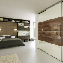 Sliding door glass, mirror, vinyl wardrobes, designed and custom built for your bedroom