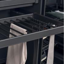 Wardrobe trouser rack