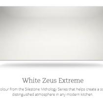 Silestone Quartz White Zeus Extreme